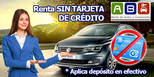 Promocion renta sin tarjeta de credito
